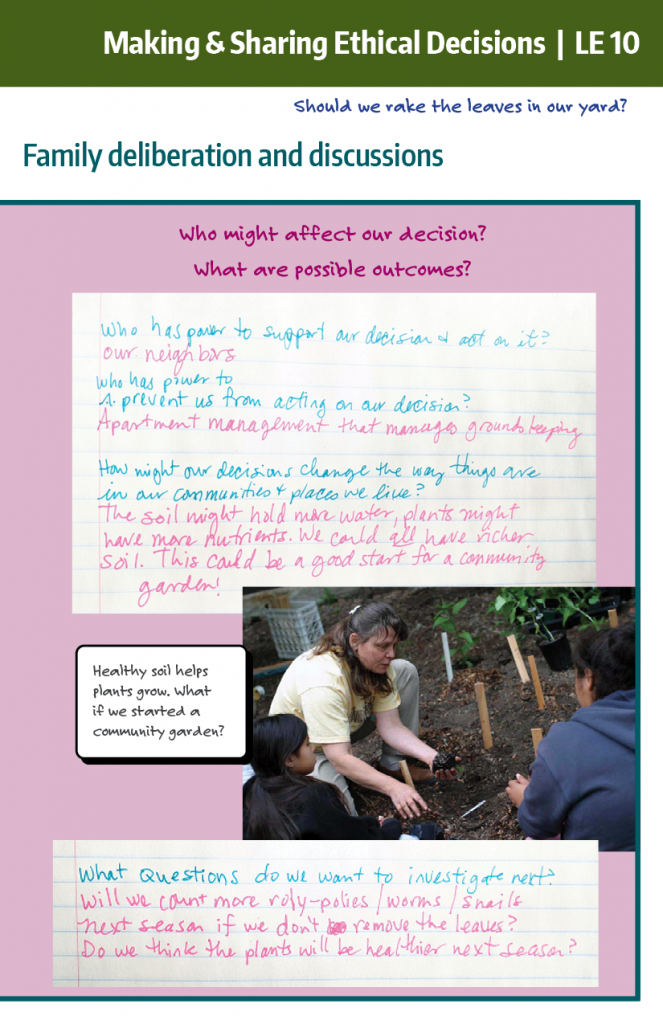 Making and sharing ethical decisions example part 3